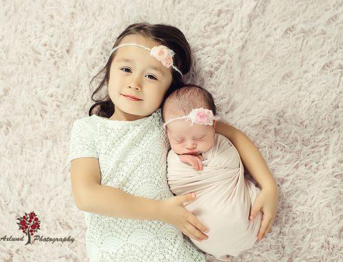 Nyföddfotografering.