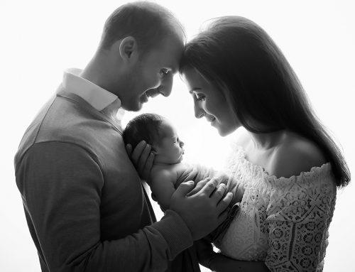 Vackraste familjen. Baby J. 11 dagar.
